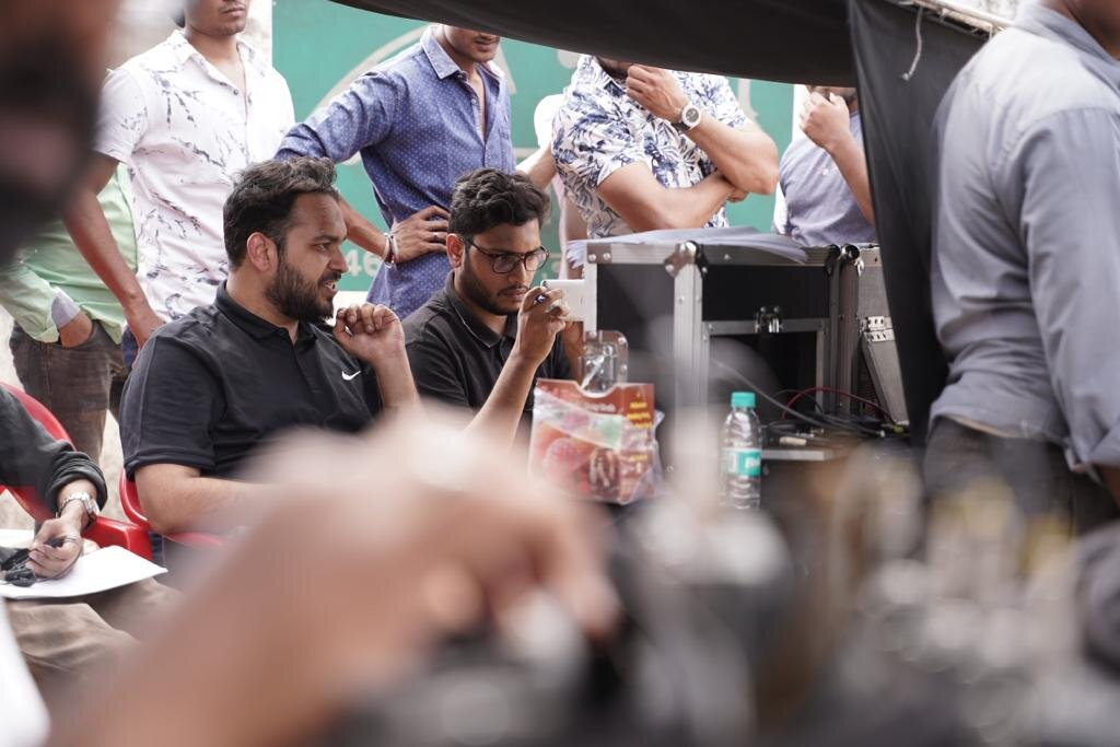 Directing the Series on the Set in TVF