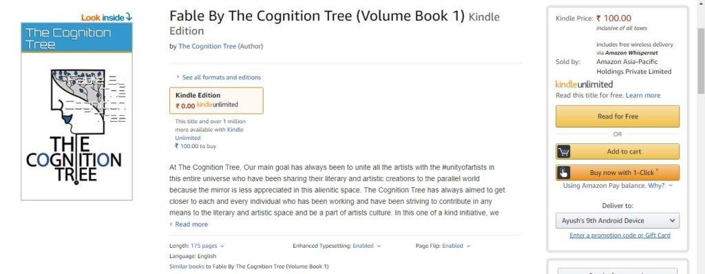 Fable by The Cognition Tree