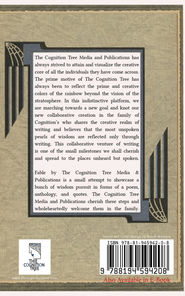 Back cover image of Fables by The Cognition Tree: Media and Publications